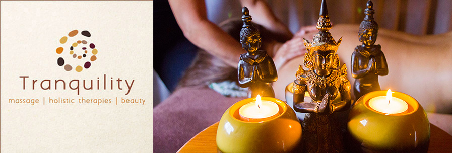Tranquility – Massage, Beauty & Holistic Therapies header image